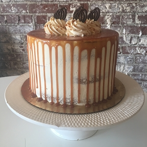 Salted Caramel Cake (10-inch)